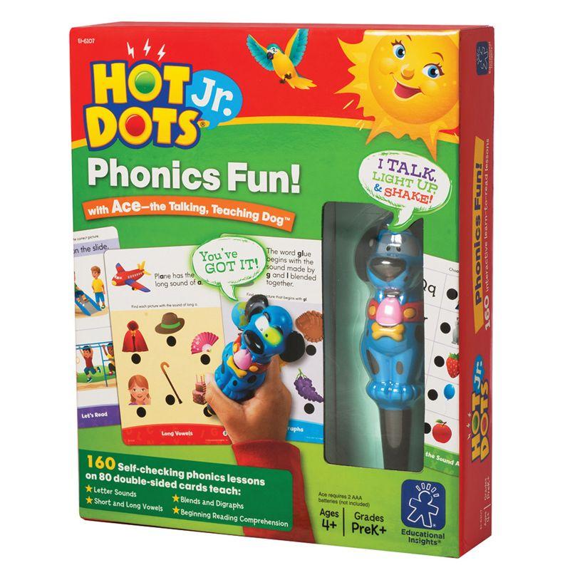 Educational Insights Hot Dots Jr. Phonics Fun, Multicolor thumbnail
