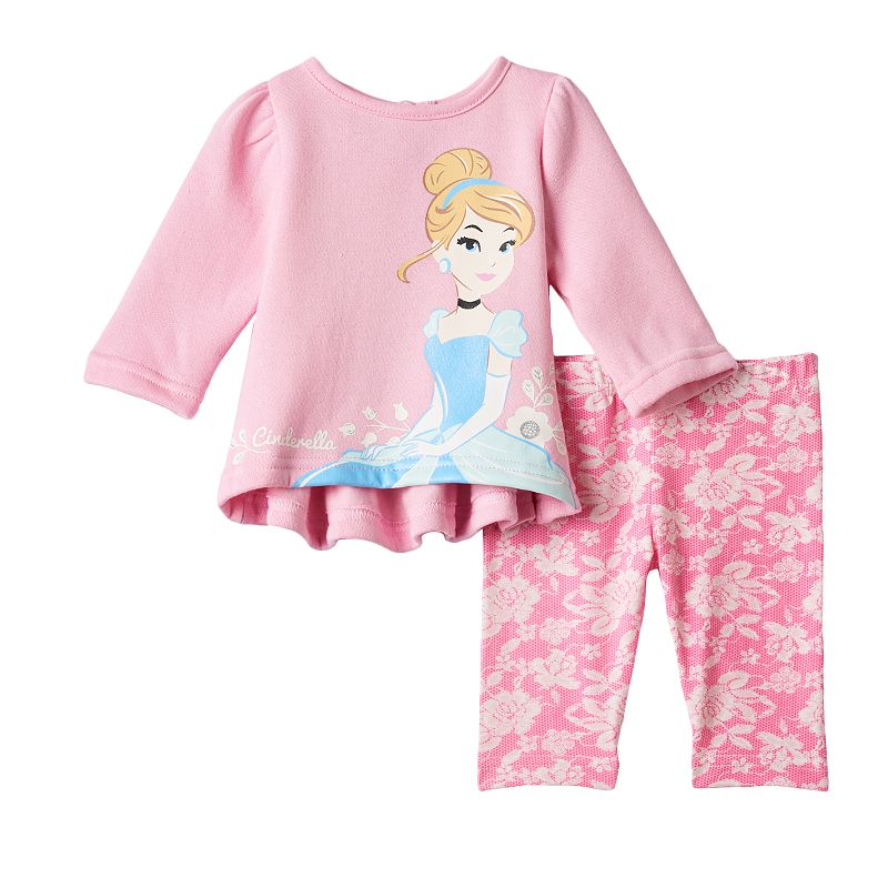 Disney's Cinderella Sweatshirt & Leggings Set - Baby Girl