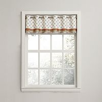 Top of the Window Medallion Straight Valance - 56'' x 14''