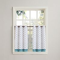 Top of the Window Medallion 2-pk. Tier Curtains