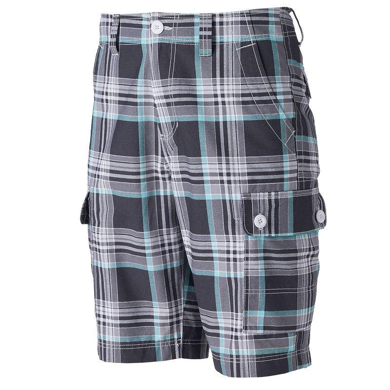 Men's Urban Pipeline® Plaid Cargo Shorts