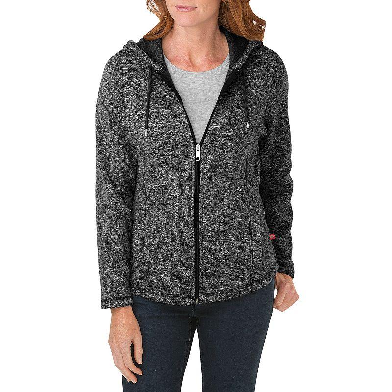 Women's Dickies Hooded Sweater Jacket