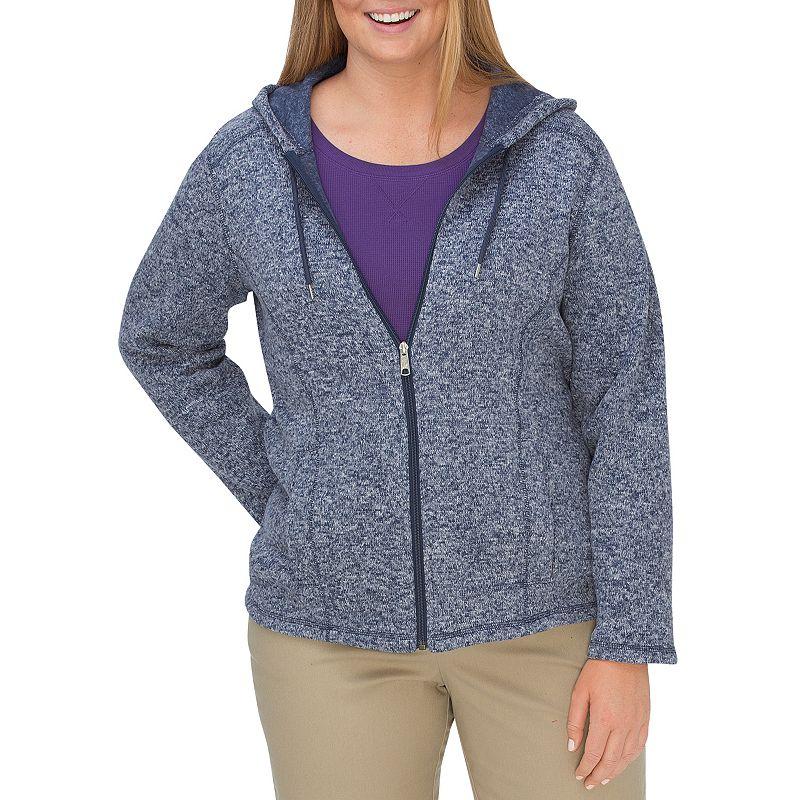 Plus Size Dickies Hooded Sweater Jacket