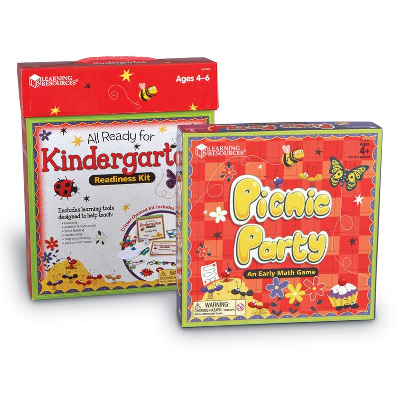 Learning Resources All Ready For Kindergarten Readiness Kit, Multicolor thumbnail