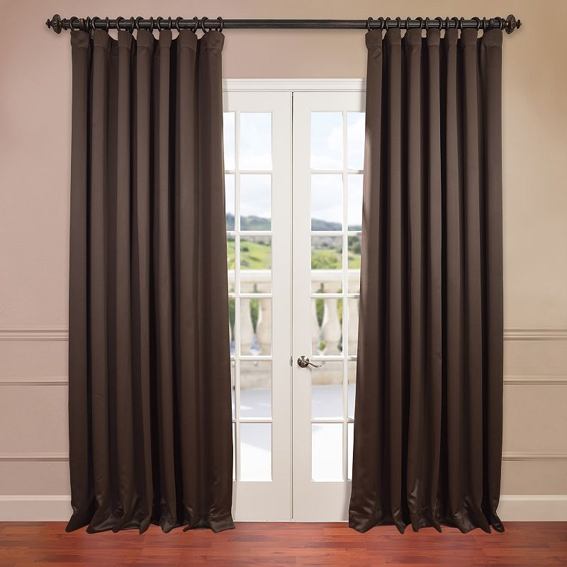 Eff Stone Doublewide Blackout Curtain