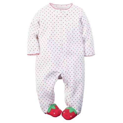 Baby Girl Carter's Strawberry Sleep & Play