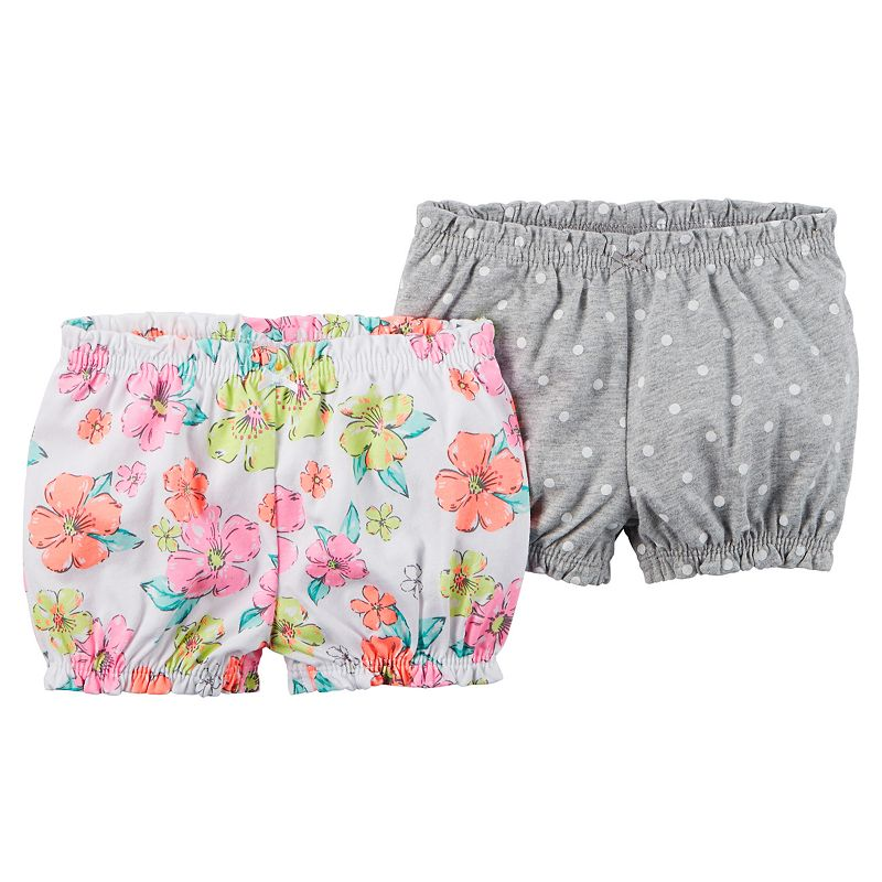 Baby Girl Carter's 2-pk. Cinched Shorts
