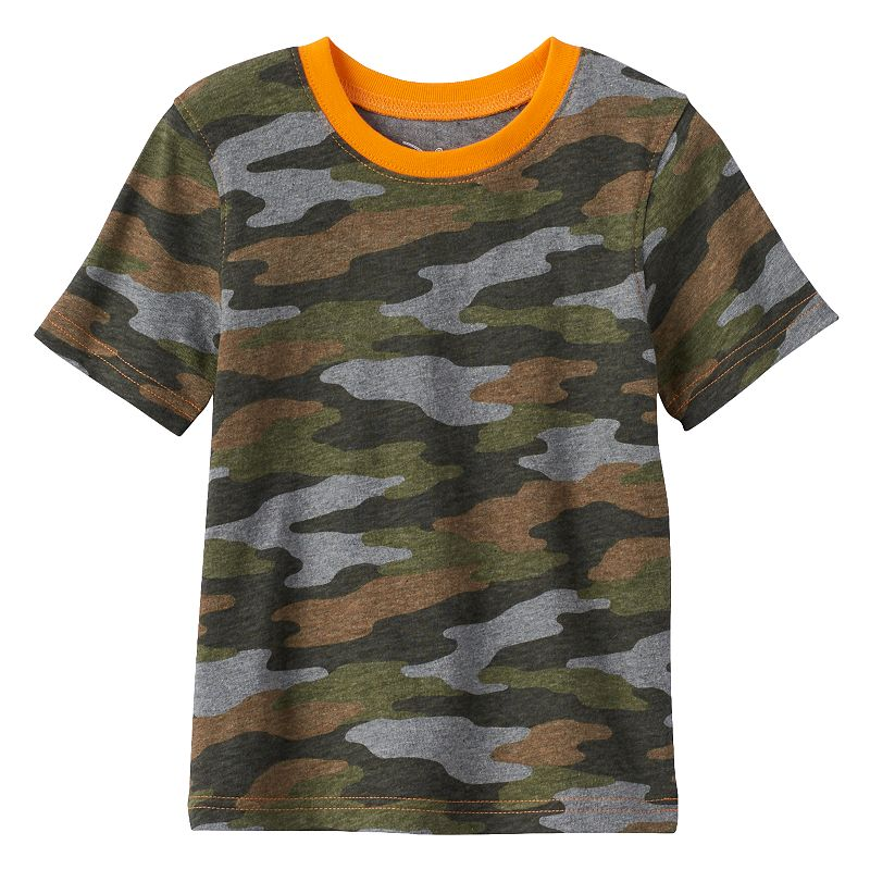 Toddler Boy Jumping Beans® Camouflage Tee