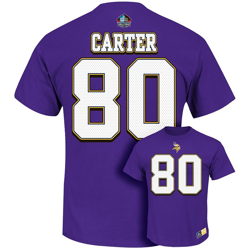 Big & Tall Majestic Minnesota Vikings Cris Carter The Eligible Receiver Tee