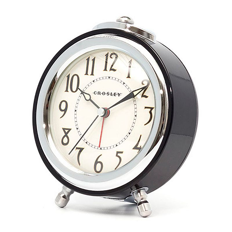 Crosley Deco Sweep Vintage Alarm Clock