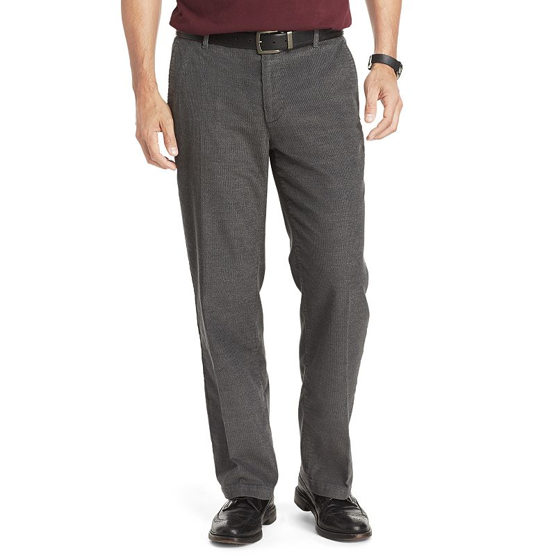 Men's IZOD Flat-Front Straight-Fit Corduroy Pants