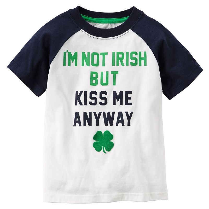 Baby Boy Carter's Graphic Irish Raglan Tee