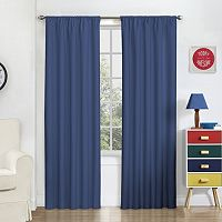 eclipse ThermaBack Blackout Macklin Curtain Panel