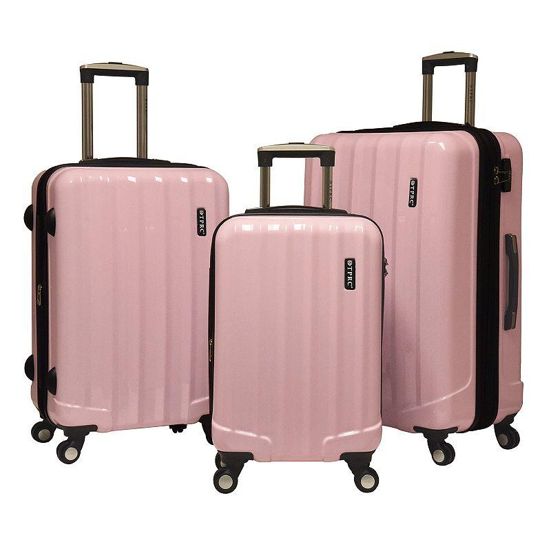 Travelers Club Luggage 3-piece Expandable Hardside Spinner Luggage Set