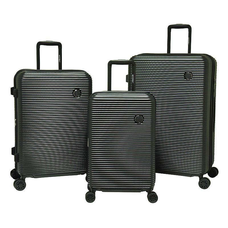Travelers Club Luggage 3-piece Expandable Hardside Double-Spinner Luggage Set