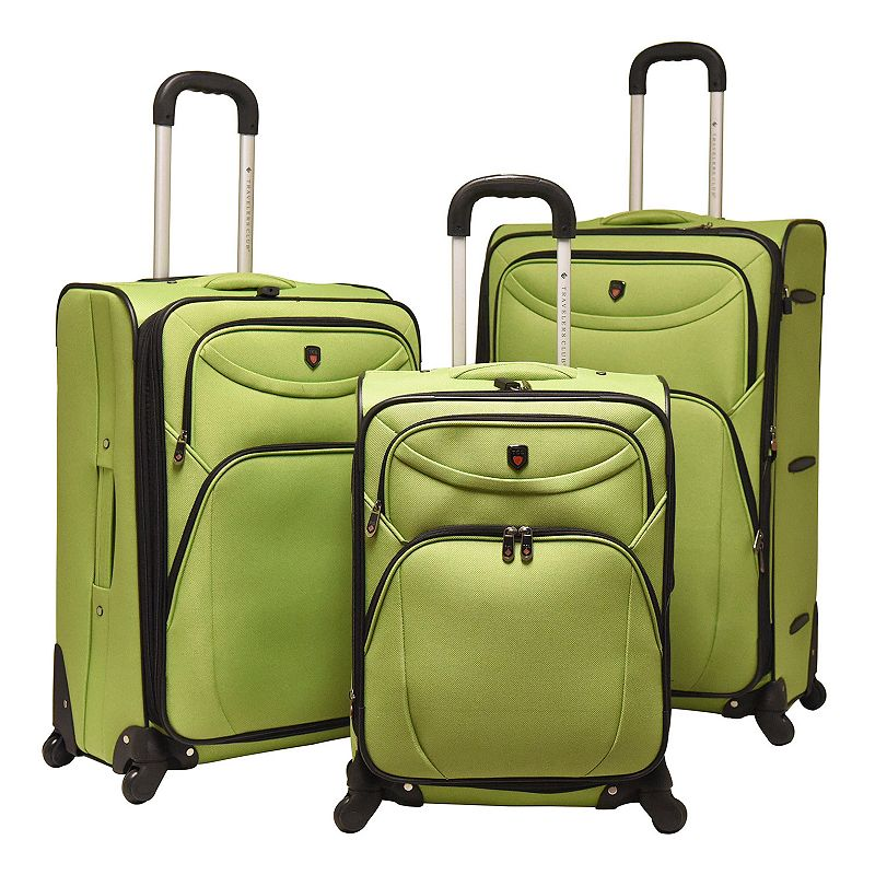Travelers Club Luggage 3-piece Expandable Spinner Luggage Set