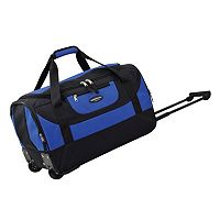 Travelers Club Luggage 20-in. Wheeled Duffel Bag