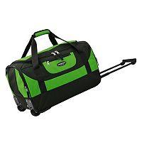 Travelers Club Luggage 20-in. Wheeled Duffel Bag