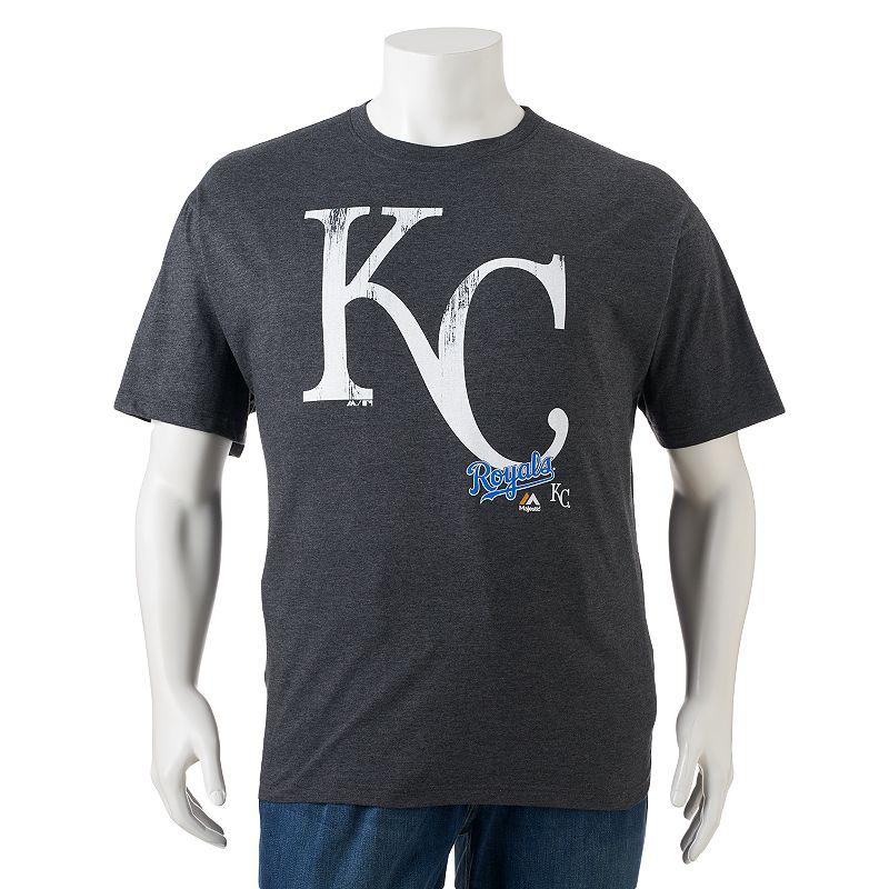 Big & Tall Majestic Kansas City Royals Takin' 'Em to School Tee