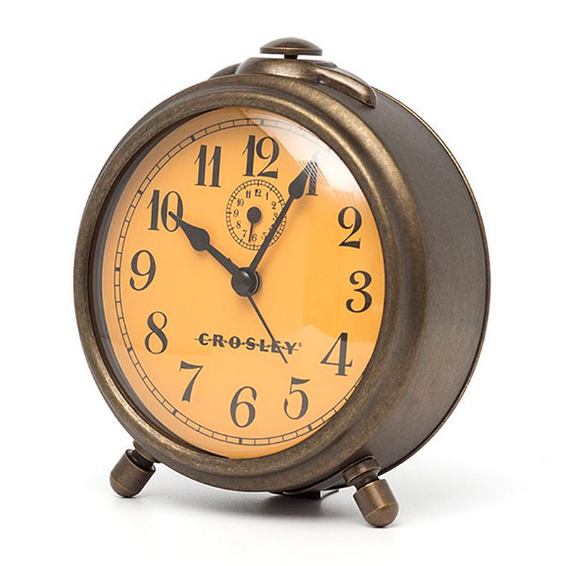 Crosley Button Vintage Alarm Clock