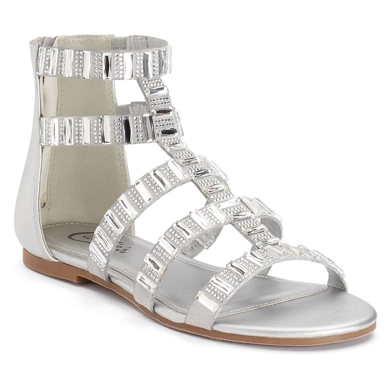 Candie's® Women's Jeweled Gladiator Sandals