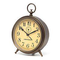 Crosley Antique Dial Finial Alarm Clock