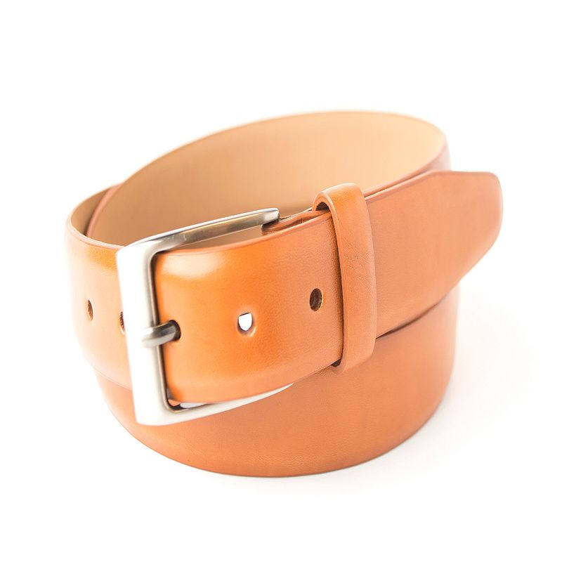 Men's Dockers Feather-Edge Leather Bridle Belt