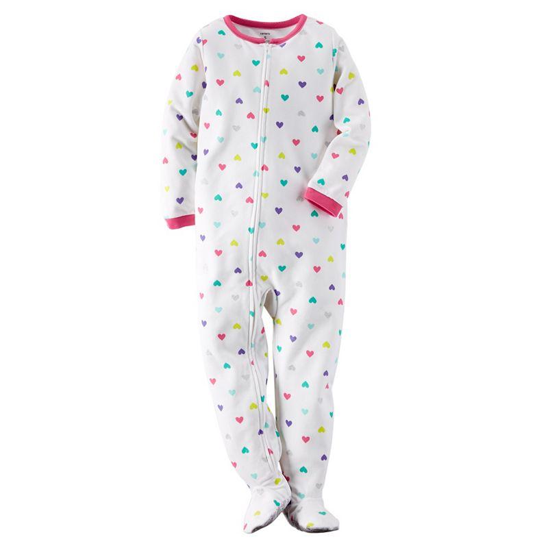 Girls 4-14 Carter's Microfleece Pajamas