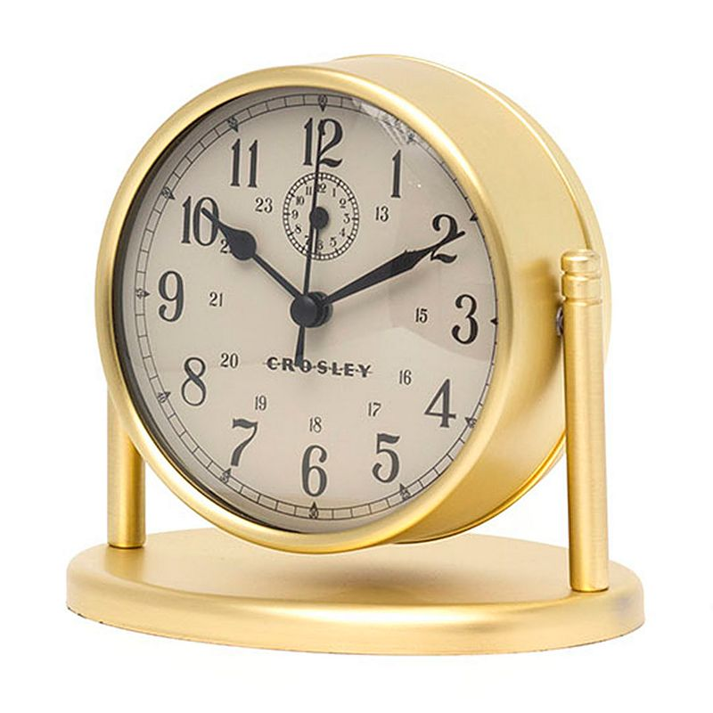 Crosley Nautical Desk Alarm Clock