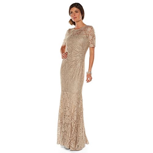 16014c6c819d Women's 1 by 8 Embellished Lace Evening Gown- Kohl's- ON SALE ...