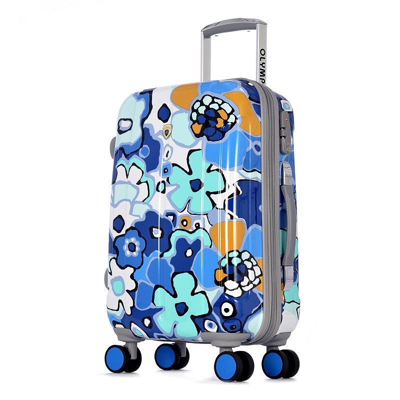 Olympia Blossom II 25-Inch Hardside Spinner Luggage