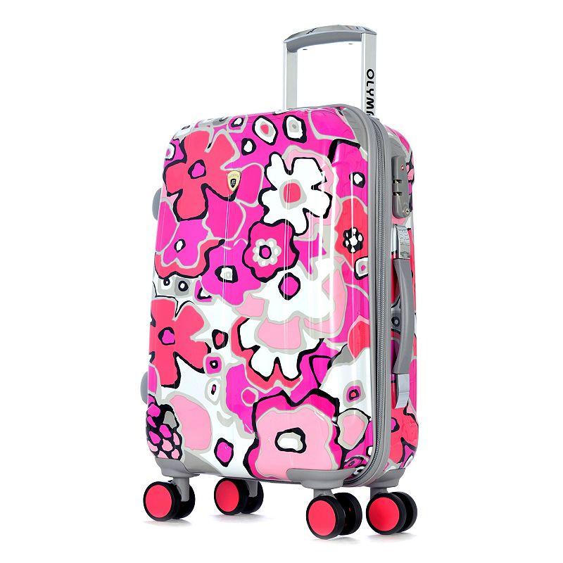 Olympia Blossom II 25-Inch Hardside Spinner Luggage