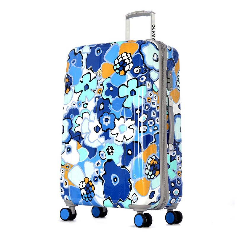 Olympia Blossom II 29-Inch Hardside Spinner Luggage