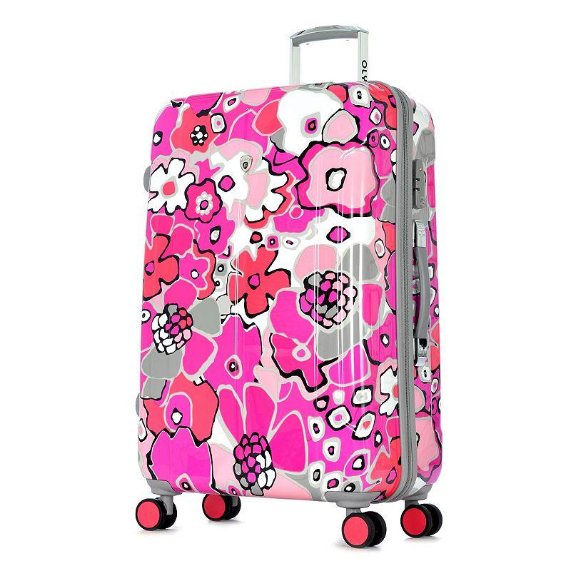 Olympia Blossom II 29-Inch Hardside Spinner Luggage