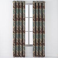 Arlee 2-pk. Lyndsay Chenille Leaf Grommet Curtains - 84'' x 54''