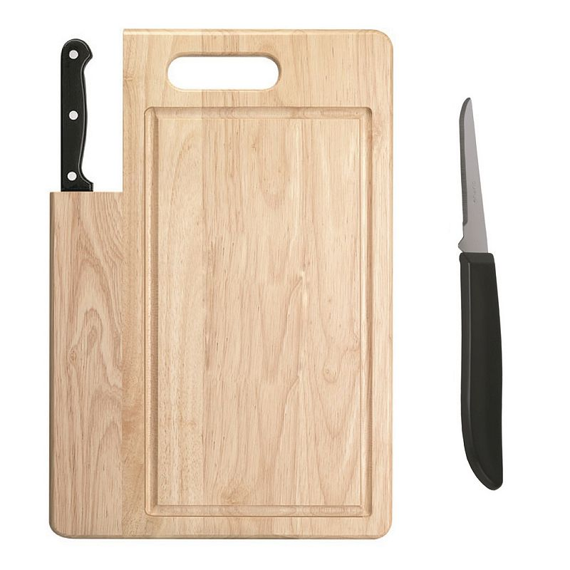 Ginsu 2-pc. Chopping Board & Paring Knife Set