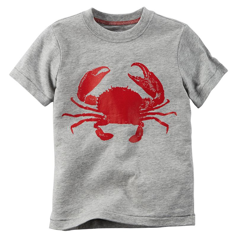 Baby Boy Carter's Red Crab Tee