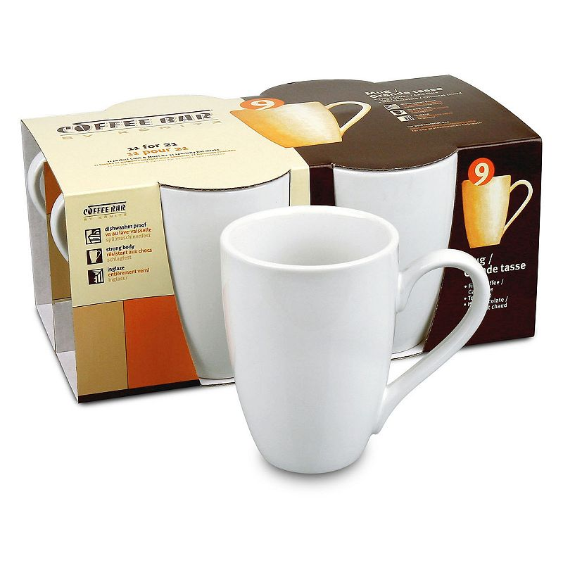 Konitz Coffee Bar 4-pc. Mug Set