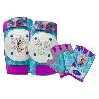 Disney's Frozen Girls Knee, Elbow & Hand Pad Set by Bell