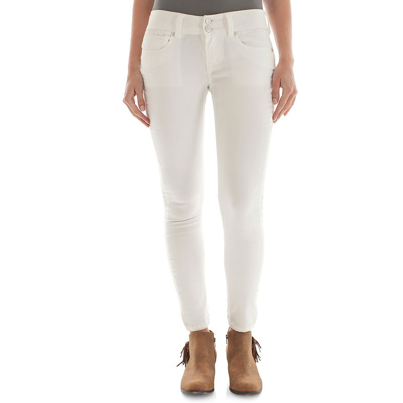 Juniors' Wallflower Sweetheart Push-Up Skinny Jeans