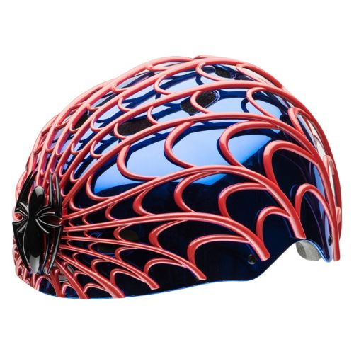 Marvel Spider-Man Kids 3D Web Multisport Helmet by Bell Sports