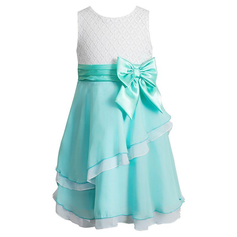 Girls 7-16 Emily West Asymmetrical Chiffon Dress