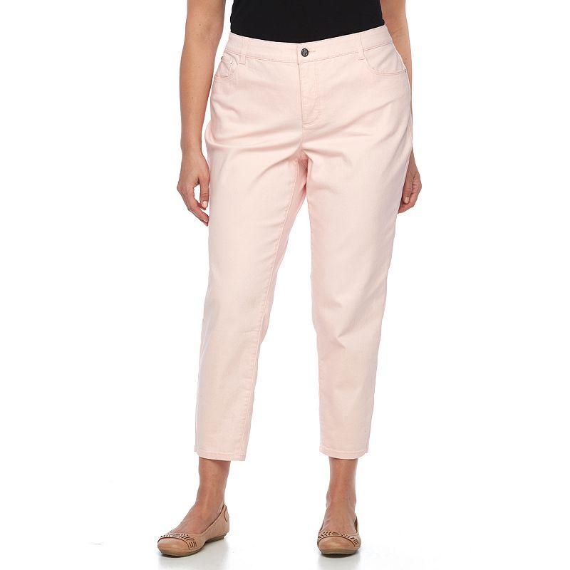 Plus Size Croft & Barrow® Classic Fit Slim Ankle Jeans