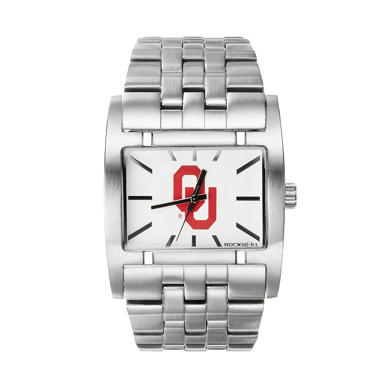 Rockwell Oklahoma Sooners Apostle Stainless Steel Watch - Men