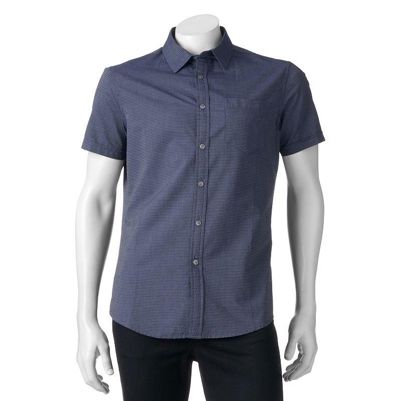 Men's Apt. 9® Slim-Fit Striped Button-Down Shirt