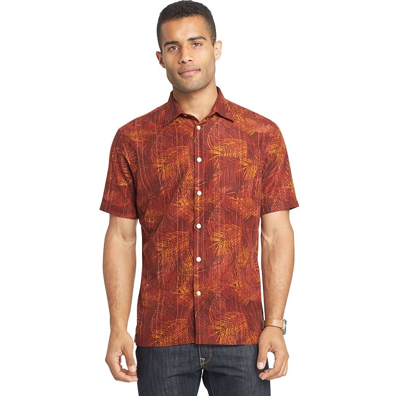 Mens rayon short sleeve shirt kohl 39 s for Untucked shirts for sale