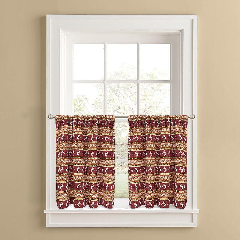 Colordrift Southwest Serenade 2-pk. Tier Curtains