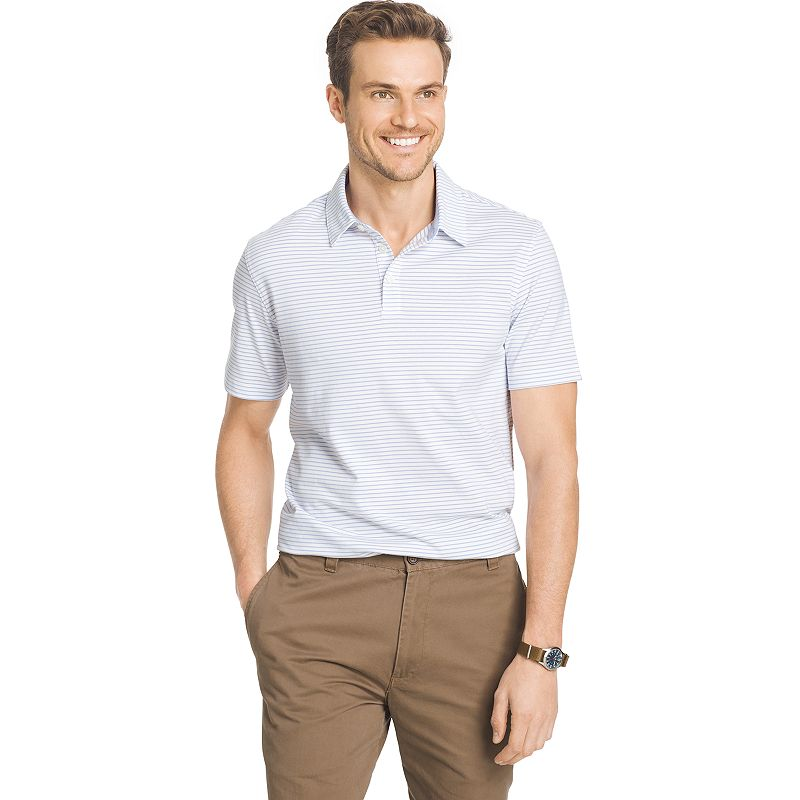 Men's Van Heusen Striped Classic-Fit Polo