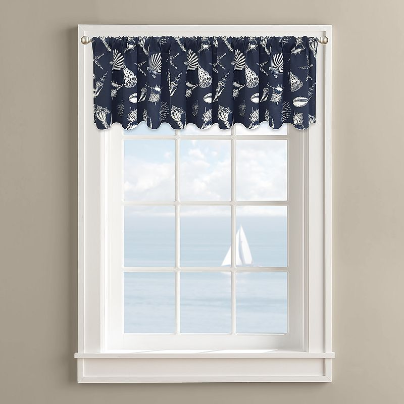 Colordrift Deep Sea Valance - 60'' x 14''