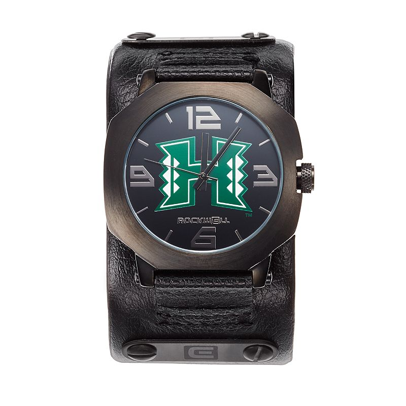 Rockwell Hawaii Warriors Assassin Leather Watch - Men
